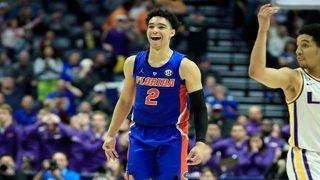 Gators hit 3 with seconds left to knock off No. 9 LSU