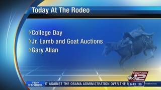 San Antonio Stock Show & Rodeo events for Thursday