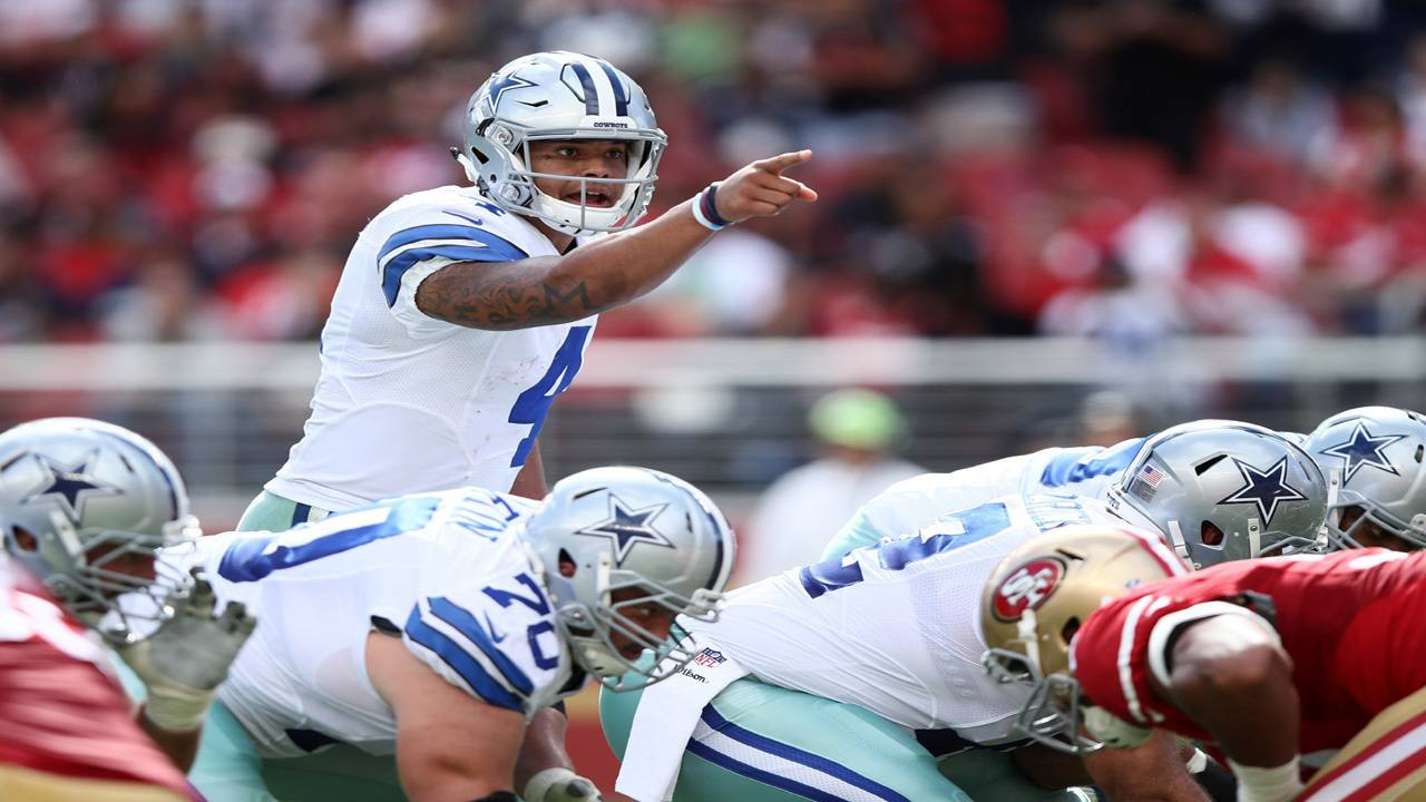 Cowboys have Romo-Dak question looming if wins keep coming 1ef37f54d