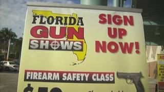 Fort Lauderdale sued over decision to stop hosting gun shows