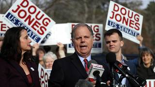 Democrat Doug Jones wins election to US Senate from Alabama