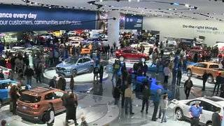 2018 NAIAS opens to the public