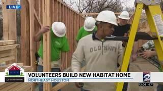 Freddy's Frozen Custard, Sprout's volunteers build new Habitat home