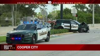 BSO deputy collides with vehicle in Cooper City