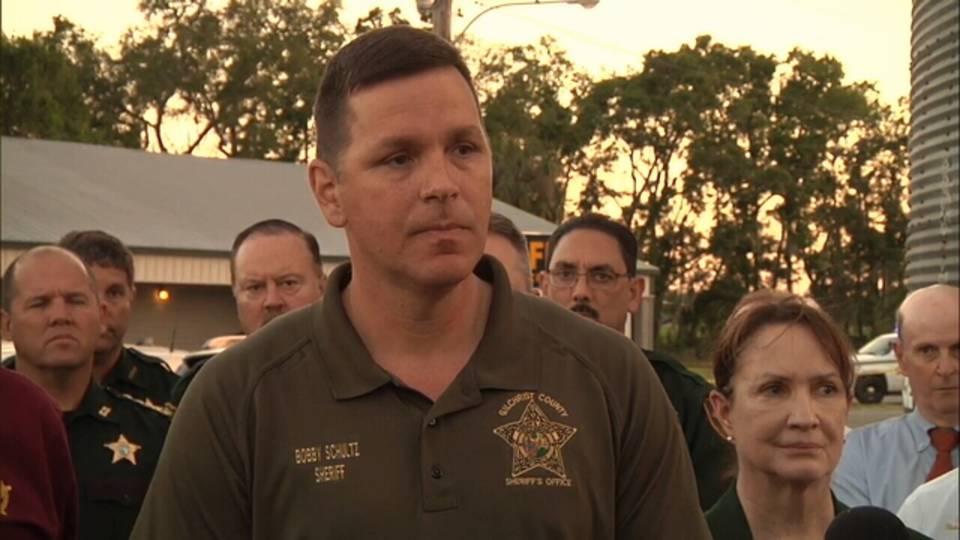 Gilchrist County Sheriff Bobby Schultz