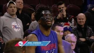 Embiid out for Game 2 per reports