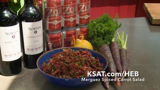H-E-B Backyard Kitchen: Merguez Spiced Carrot Salad