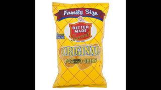 Better Made recalls 10-ounce Original Potato Chips due to undeclared allergens