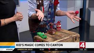 Kid's magic comes to Canton
