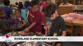 My Future My Choice distributes books at Riverland Elementary School in&hellip&#x3b;