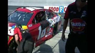 Busch brothers will start on the front row at Bristol