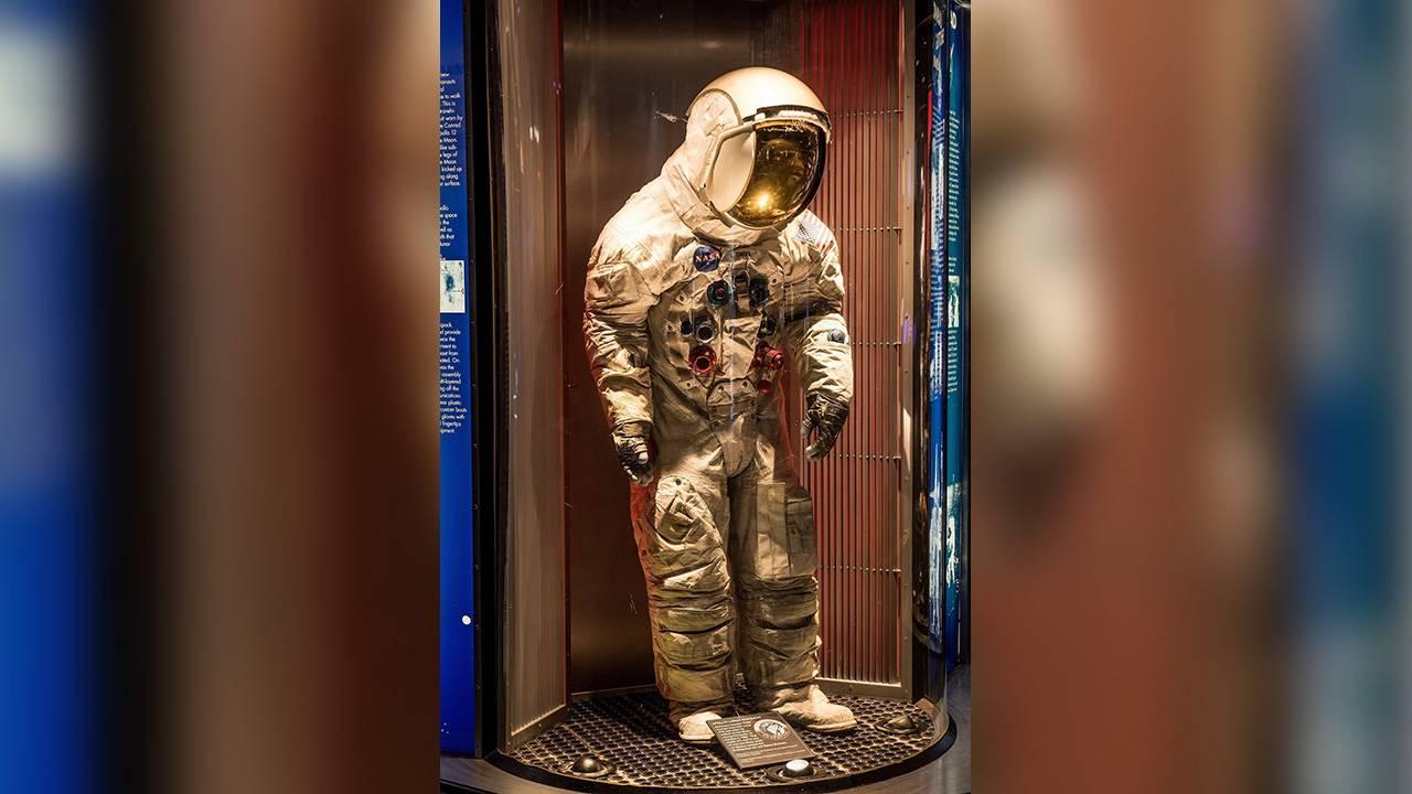 Apollo 50 NASA spacesuit astronaut Pete Conrad wore on the Moon