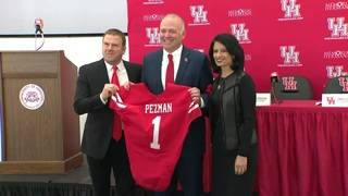 Chris Pezman introduced as University of Houston athletics director