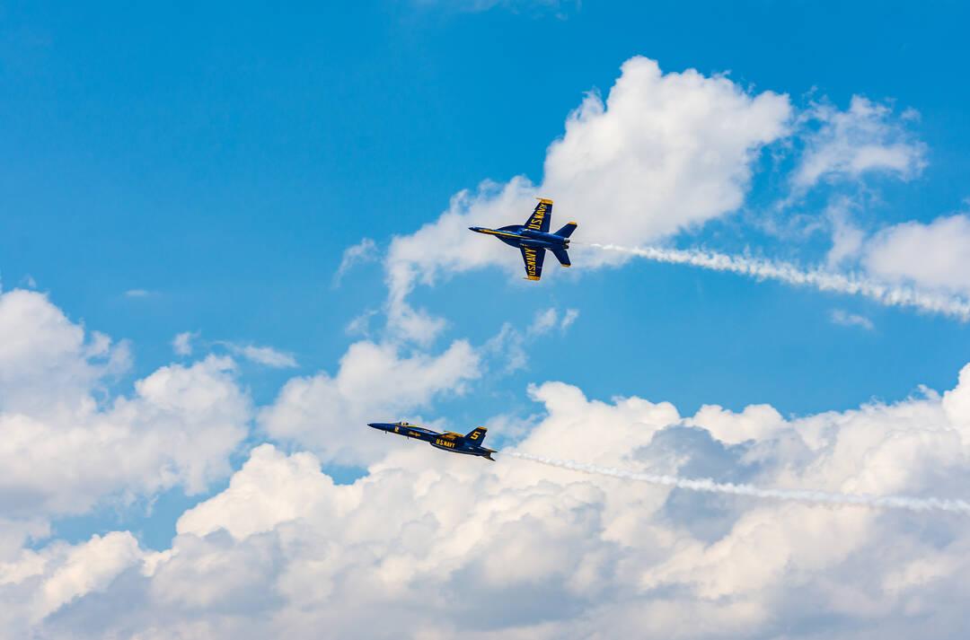 US Navy Blue Angels. May 7th 2021.
