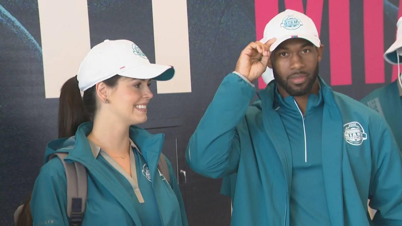 Super Bowl LIV volunteer uniforms