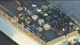 Coast Guard offloads 34,780 pounds of cocaine at Port Everglades