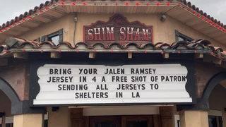 Jacksonville Beach bar offers shots in exchange for Jalen Ramsey jerseys