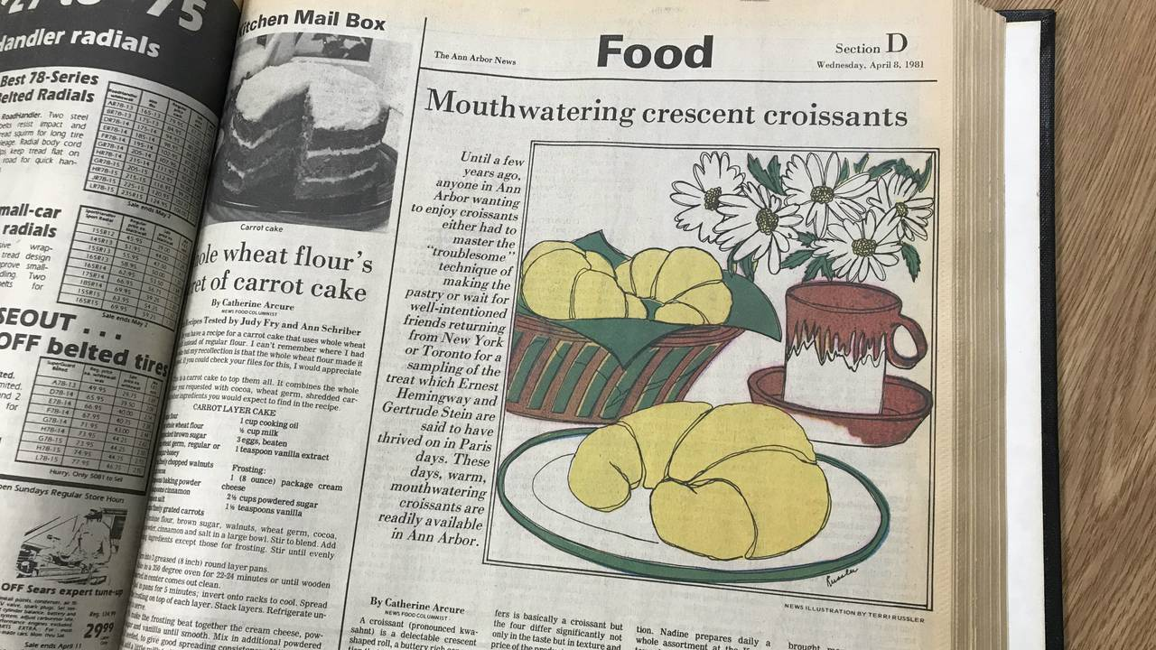Ann Arbor News Food Section