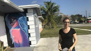City says colorful mural on Hollywood home has to go