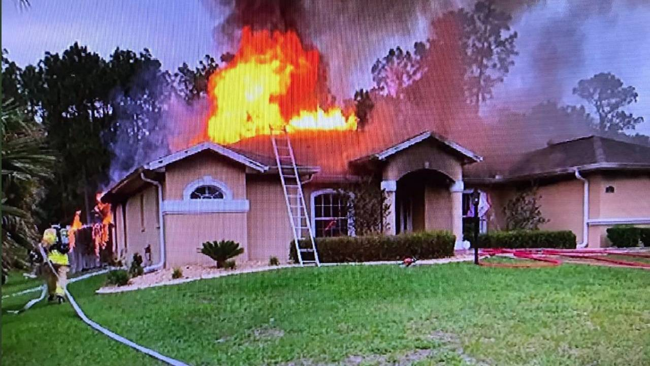 Marion County house fire arson