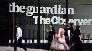 The Guardian says it was warned of cyberattacks by Saudi Arabia