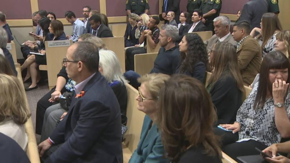 MSD families in court during Cruz arraignment