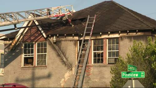 1 puppy killed in apartment fire in southeast Houston