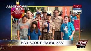 Holiday Greetings: Boy Scout Troop 888