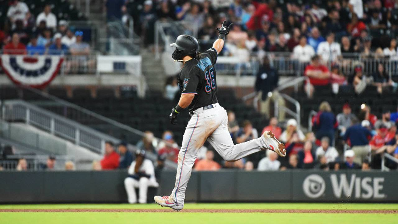Miami Marlins v Atlanta Braves, 4-6-19