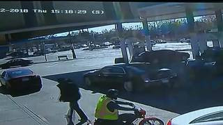 Vintage moped stolen at gunpoint from gas station on Detroit's west side