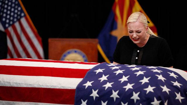 Meghan McCain said her Father