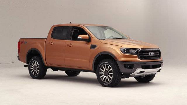 Detroit Auto Show: After 8-year hiatus, Ford Ranger returns to...