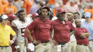Authorities investigating after fan posts meme of FSU coach being lynched