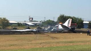 Multiple people injured after vintage WWII plane crashes at Austin-area&hellip&#x3b;