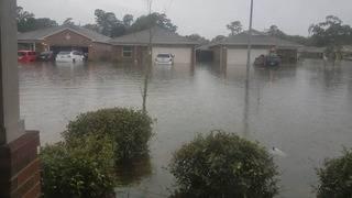 Neighborhood where KPRC's Habitat for Humanity homes built flooded