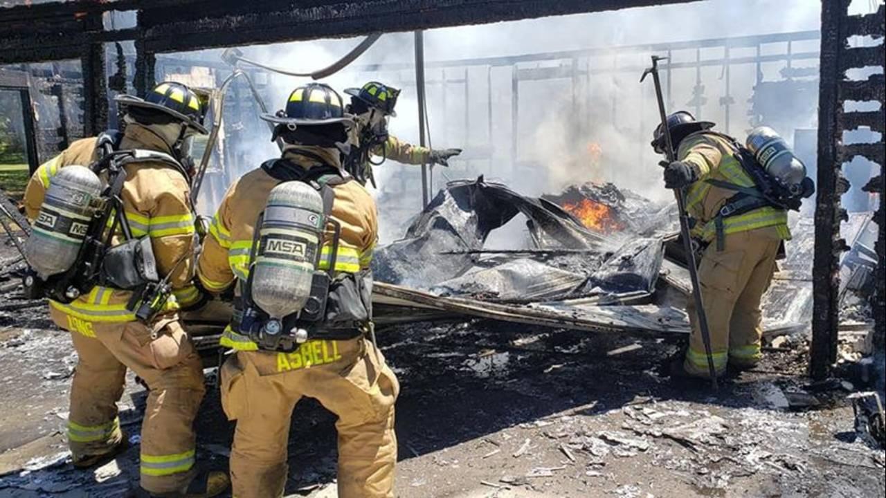 MCFR Units battle Silver Springs garage fire_1555873435904.jpg.jpg