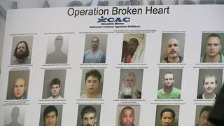 60 people arrested during Operation Broken Heart
