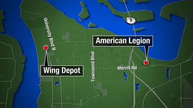 Wing Depot and American Legion