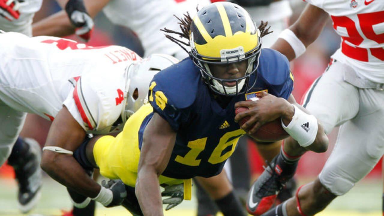 Denard Robinson Michigan Ohio State 2011