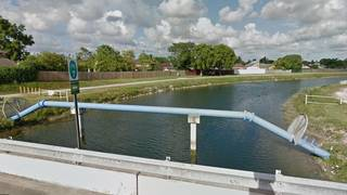 Paramedics rescue child from canal in southwest Miami-Dade