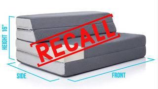 86K foldout mattress-sofas recalled over flammability risk