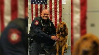 Local police K9, Rooster, gets charitable donation of life-saving body armor