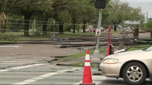 Crews work to restore power after Pasadena area hit by tornado