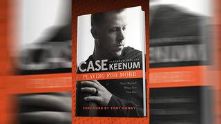 Case Keenum's book to go on sale in September