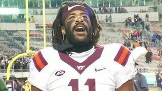 Gaines' role expanding in Hokies defense