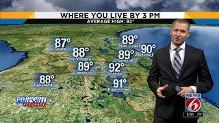News 6 Morning Forecast for August 18th