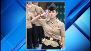 Nease High School Navy Junior ROTC promotes 119 cadets