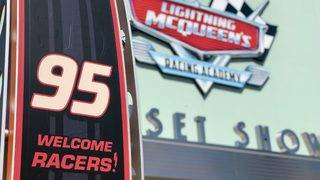 Lightning McQueen's Racing Academy offers high-speed fun for rookie racers