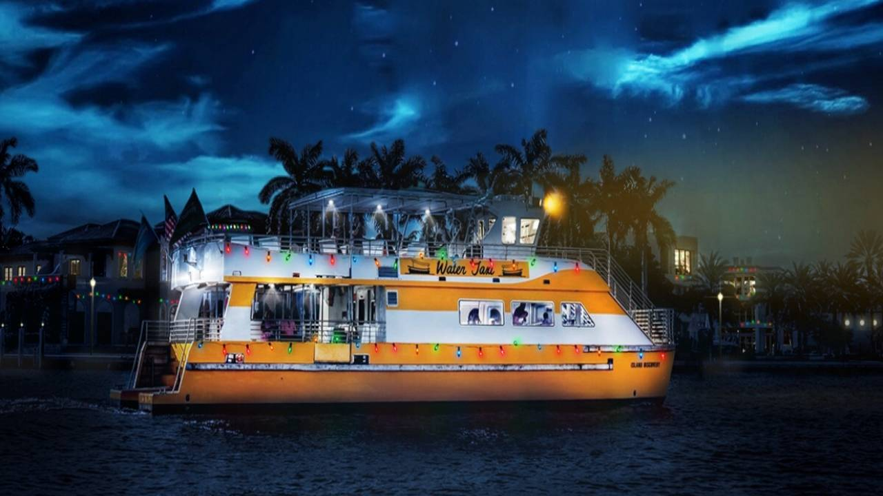 Water Taxi 'Holiday Lights'