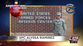 Holiday Greetings: SPC Alyssa Ramirez